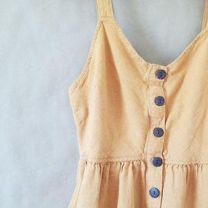 [Universal Thread] Boho Button Front Dress